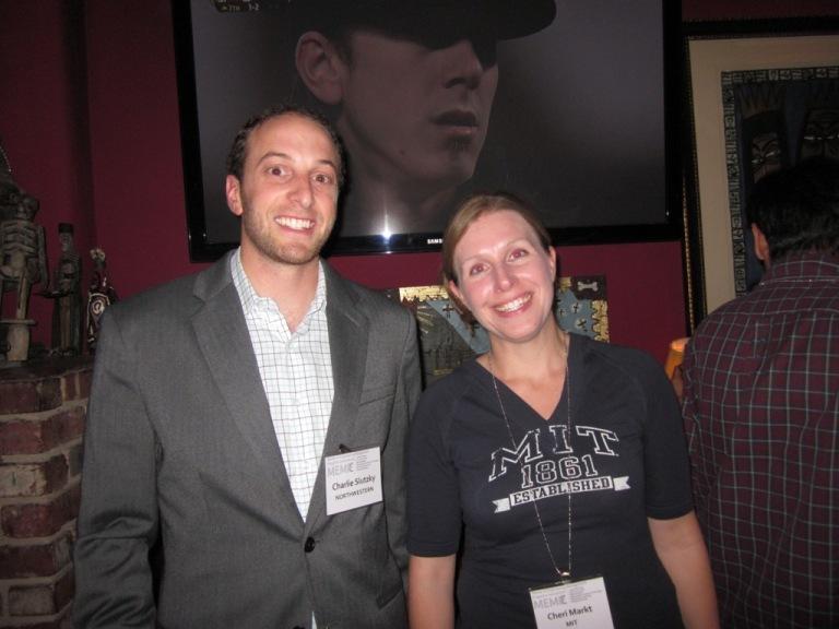 Charlie Slutzky (NUMEM '10) and Cheri Markt (M.S. MIT '10) organized the first event last year.