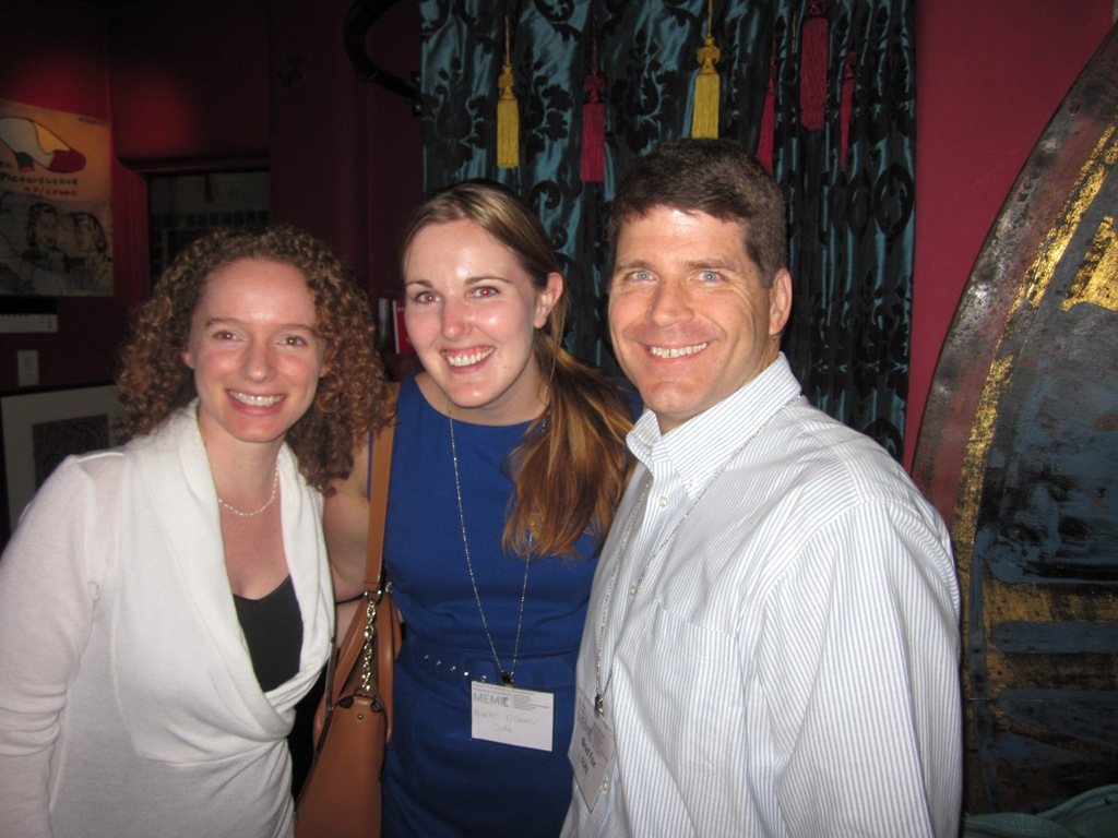 MEMPC alumni networking at the first ever event in Palo Alto last year.