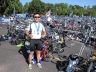 Aug 4, 2014: Sheng after finishing his first sprint triathlon in Naperville, IL.